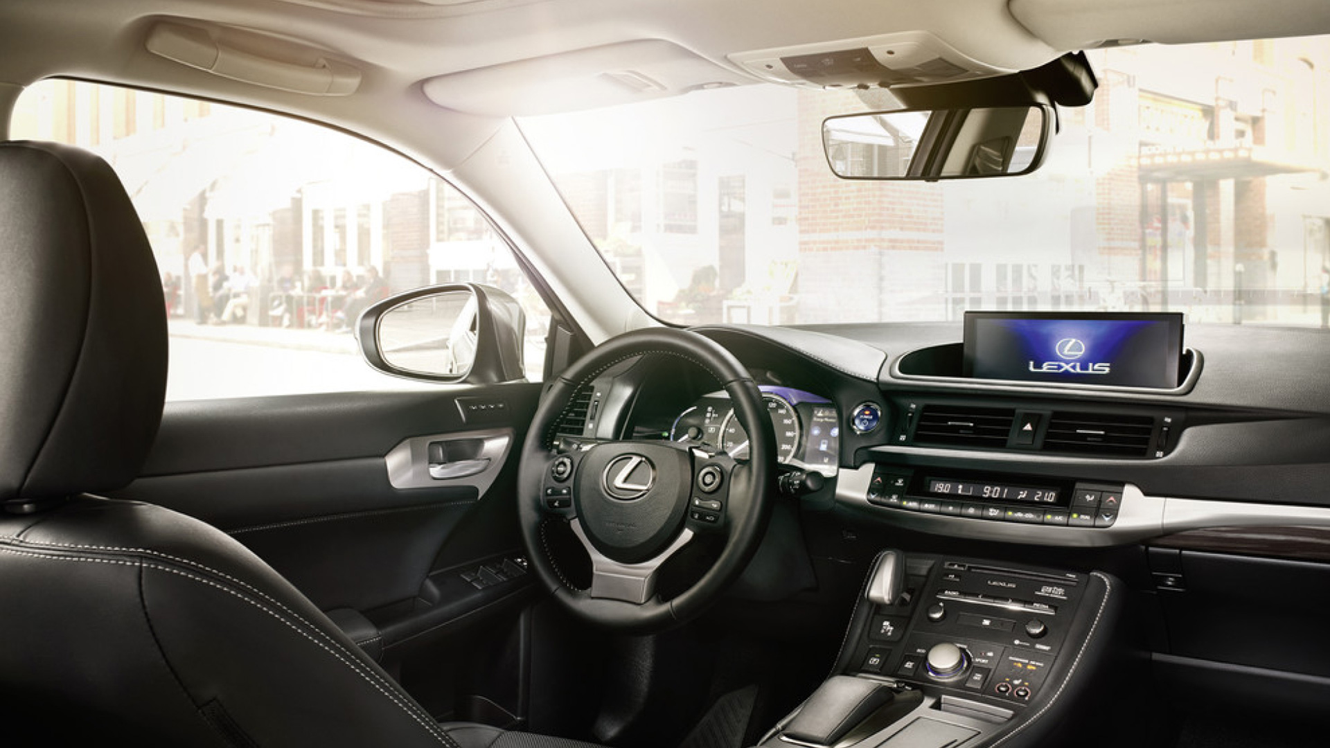 Interior del Lexus CT 200h