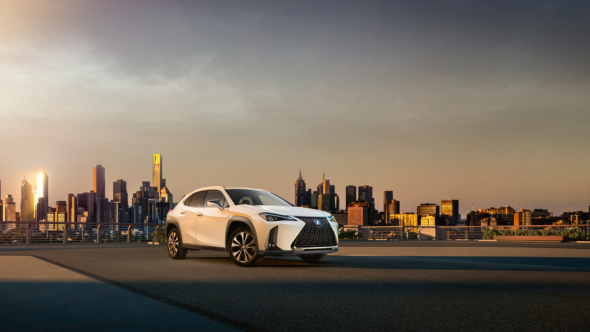 Vista general del Lexus UX250h